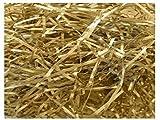 20 Grams of Metallic GOLD Luxury Hamper Shred Gift Packaging - Extra Soft Shredded Tissue Paper