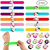 Tacobear Unicorn Slap Bands Unicorn Bracelet and Unicorn Finger Rings for Unicorn Party