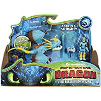 Dragons DreamWorks Stormfly and Astrid, Armored Viking Figure