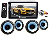 Sound Boss 2D in Bluetooth Car Video Player 7'' Ultra HD Touch Screen/Coaxial