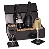 Product Image of Luxury Prosecco & Red Wine Gift Hamper Presented In A...