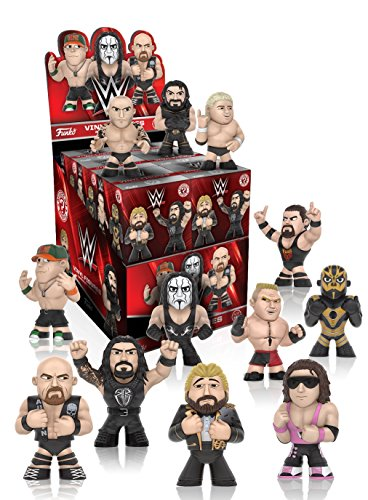 Funko - Figurine WWE Mystery Minis Serie 2 - 1 boîte au hasard / one Random box - 0849803078133