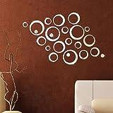 DDLBiz-Adhesivo-mural-diseo-de-crculos-de-espejo