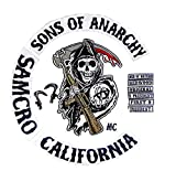 Sons Of Anarchy Patch da cucire 100% identico ai originali