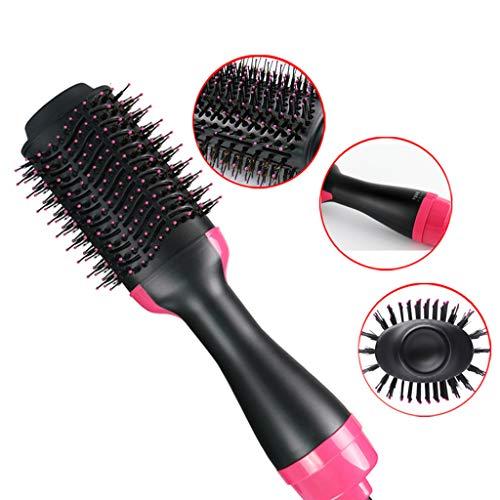 Zwei-in-Ein-Heißluft-Knopf Straight Hair Hair Hair Hot Air Comb Hair Hair Dryer, Ceramic Hot Air Pinsel Zwei in einem Infrarot Negative Eisen