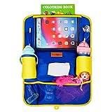 SURDOCA Organizer Sedile Auto - Organizer Auto Bambini, Edizione Esclusiva per progettisti, 12,9/11 e iPad di Dimensioni più ridotte, includono Tasca portapenne per Apple, Senza PVC