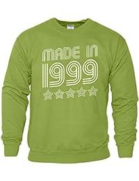 Made In 1999 5 Sterne Top Geburtstagsgeschenk Retro Herren Sweat