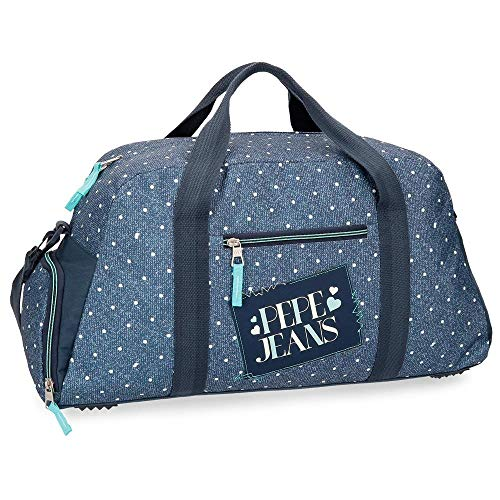 Pepe Jeans Olaia Blue Travel Bag