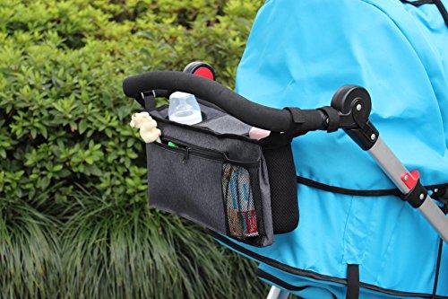 Ogquaton 4 x Mummy Buggy Clip Cochecito Cochecito Cochecito Gancho Bolsa de Compras /Útil y Duradero