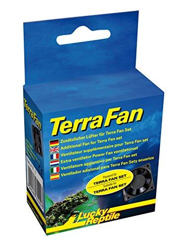 Lucky Reptile TF-2 Terra Fan with Extension Fan Test