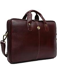 Hammonds Flycatcher Genuine Leather 13 inch Laptop Messenger Bag for Men|Office Bag|Travel Bag|Laptop Bag|Messenger Bag|