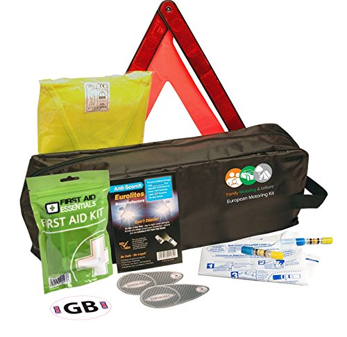 Driving Kit For France With Two NF Approved Breath Alcohol Detectors - In Zipped Bag