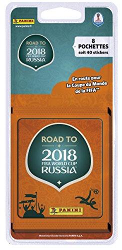 Panini France SA - Road To World Cup 2018 Blister 8 Pochettes, 2314-038, Non