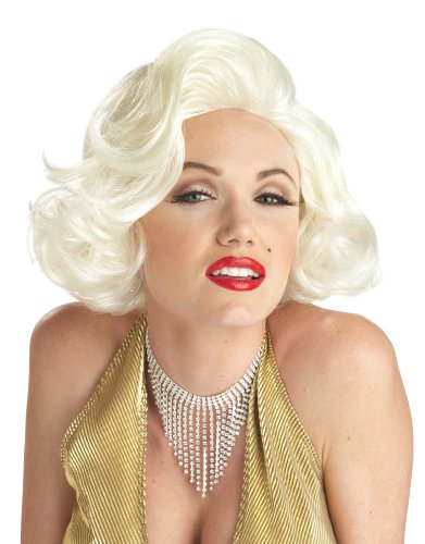 California Costumes Std Size Adult Classic Sexy Marilyn Monroe Costume Wig