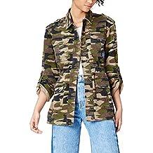 Amazon.es: chaqueta militar mujer camuflaje