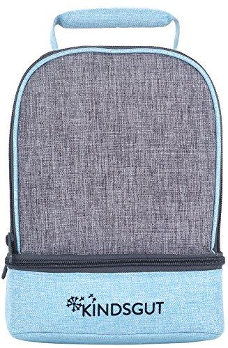 Kindsgut Kinder-Rucksack, Kita-Rucksack, hellblau