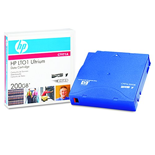 Hewlett Packard [HP] LTO Ultrium Data Tape Cartridge 200GB 609m Ref C7971A Test