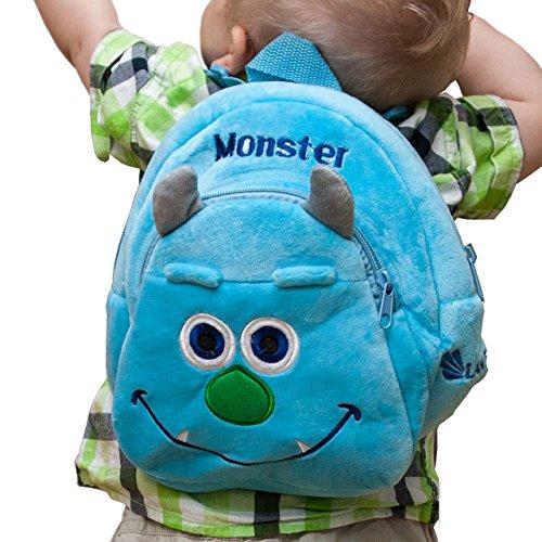 Imagen de lantelme 5991niños  monster–fiambrera y botella en juego para guardería–kinderkrippen y viajes alternativa
