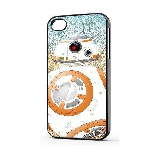 Personnalisé iPhone 5/5s/SE coque [LDAFGLH617209][THEME SUPREME] coque pour iPhone 5/5s/SE [COLOR/NOIR] STAR WARS BB-8 - 016