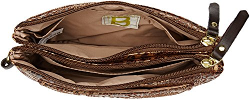 Bensimon Damen Mini Bag Umhängetasche, 1.5x16x23 centimeters Mehrfarbig (Imprime Animal)
