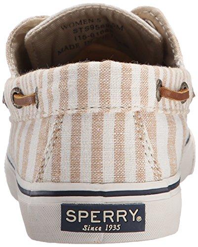 Sperry Top-Sider Bahama Multi Stripe, Baskets Basses Femme Beige - Beige (Beige)
