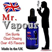 Mr Vapour Cracker's Dripper Bottle, Cloud Chasing E-Liquid