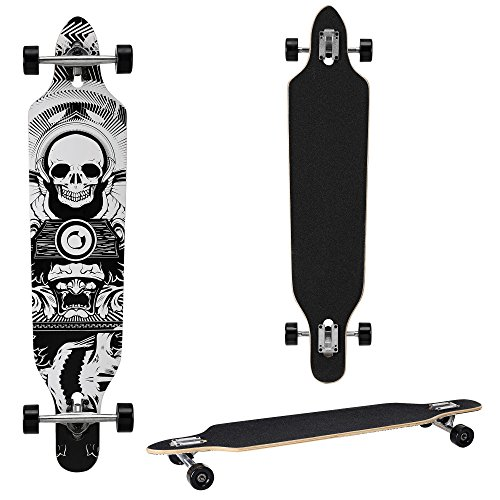 longboard-von-protec-104-x-23-x-95-cm-abec-7-kugellager-skateboard-dropped-through-freeride-board-cr