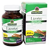 Nature's Answer - Licorice Root Single Herb Supplement - 90 Vegetarian Capsules from Nature's Answer