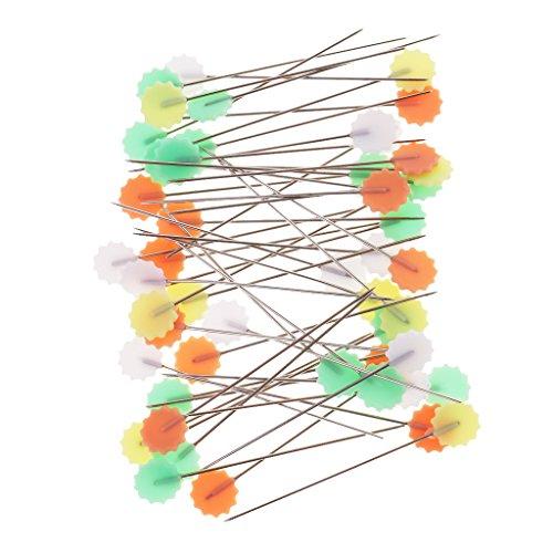 200pcs 0.8 Metal Gourd Pin//Bulb Pin//safety Pins//Clothing Tag Pins Bulb Pin//Calabash Pin Bead Needle Pins for DIY Craft Making and Clothing by NAOAO