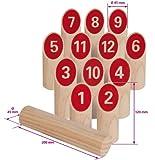 Eichhorn 100004540 - Wurfspiel - in Stoffbeutel - 14 teilig - Outdoor