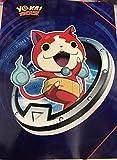 pochette cartonnée avec rabats yo kai watch