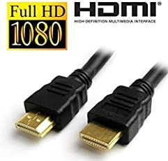 UNMCORETM High Speed HDMI Male to HDMI Male HDMI Cable TV Lead 1.4V Ethernet 3D Full HD 1080p (1 Meter)
