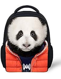 Cool Panda Kids Backpack Baby Boys Girls Shoulders Bag Cartoon School Bag Kbp-C0201F By Collect Beauty