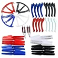 MagiDeal Set of 52 Pieces Quadcopter Spare Part Kit for Syma X5S X5SC X5SW Drone Accs