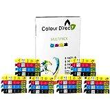 30 XL ColourDirect Cartouches d'encre compatibles Pour Epson Work Force WF2010W WF2510WF WF2520NF WF2530WF WF2540WF WF-2630WF WF-2650DWF WF-2660DWF imprimantes 12 Noir 6 Cyan 6 Magenta 6 Jaune