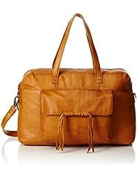 Pieces Pcmusta Leather Travel Bag, Sacs portés épaule