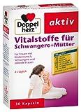 Doppelherz Nährstoffe für Schwangere und Mütter, 2er Pack (2 x 30 Kapseln)