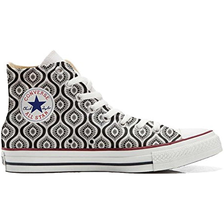Converse All Star Hi Chaussures Personnalis eacute; et imprim imprim imprim eacute;s Unisex Produit Artisanal Wave Paisley - B01N9RHM6W - e8730a