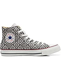 Converse All Star Customized - zapatos personalizados (Producto Artesano) Wave Paisley