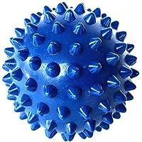 """Preisvergleich für 3""""PVC geizig Massage Punkte, mischohren, Nägel, Faszien, Yoga Bälle, Fitness Bälle, Igel Kugeln (blau)"""