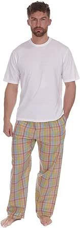 Cargo Bay Mens Pj Pyjama Set Short Sleeve Cotton Blend Loungwear