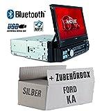 Ford KA - Autoradio Radio Caliber RMD574BT - Bluetooth   MP3   USB   SD   7' TFT - Einbauzubehör - Einbauset