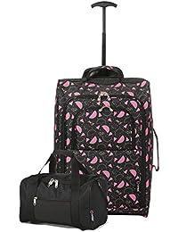 Ryanair Cabin 55x40x20cm Approuvé & Second 35x20x20 Main Luggage Set - Carry on Les Deux!