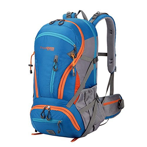 Inovey 45L All'Aperto Alpinismo Zainetto Zaino Viaggio Spalla Borsa Sport Unisex Confezione Impermeabile-Verde Blu