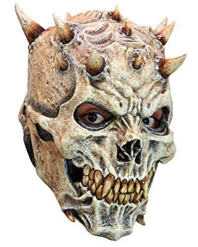 (Hochwertige Night King Skull Maske aus Latex für Halloween, LARP & Cosplay)