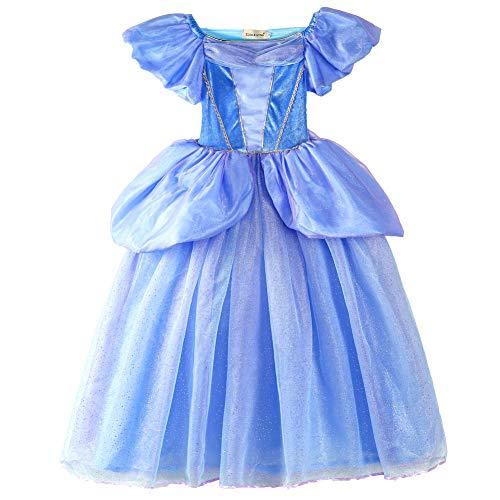 en Prinzessin Kleid Verrücktes Kleid Partei Kostüm Outfit DE-FBA-CNDR2 (6-7 Years - Size Code 40, DE-CNDR2) ()