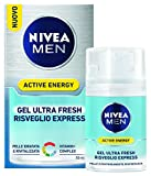 Nivea Men Active Energy, Gel Viso Ultra Fresh Risveglio Express, 50 ml