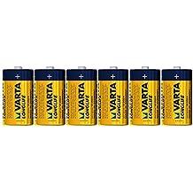 Varta Longlife D Mono LR20 Batterie (6er Pack) Alkaline Batterien
