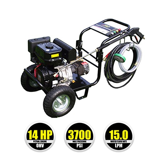 Kiam KM3700P 14hp Industrial Pressure Washer (3700PSI @ 15 Ltr/Min)