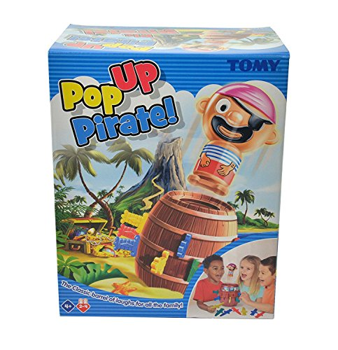 """Tomy Kinderspiel """"Pop Up Pirate"""" – hochwertiges Aktionsspiel für die ganze Familie – Piratenspiel verfeinert die Geschicklichkeit Ihres Kindes – ab 4 Jahre - 3"""